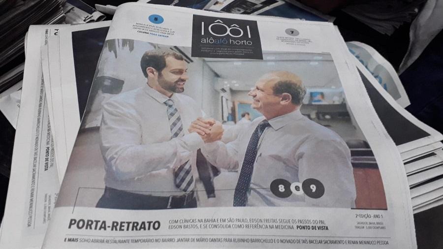 """Jornal """"Alô Alô Horto"""" volta a circular no Horto Florestal, em Salvador"""