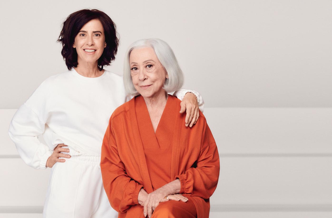 Hering une Fernanda Montenegro e Fernanda Torres para celebrar Dia das Mães