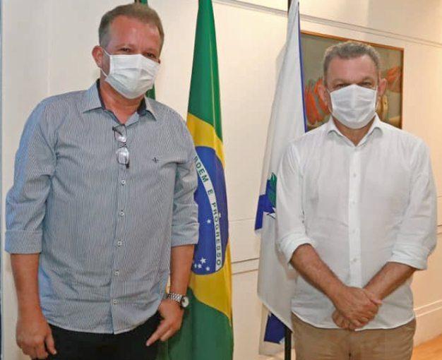 André Figueiredo conversa com Sarto sobre projetos relevantes para Fortaleza