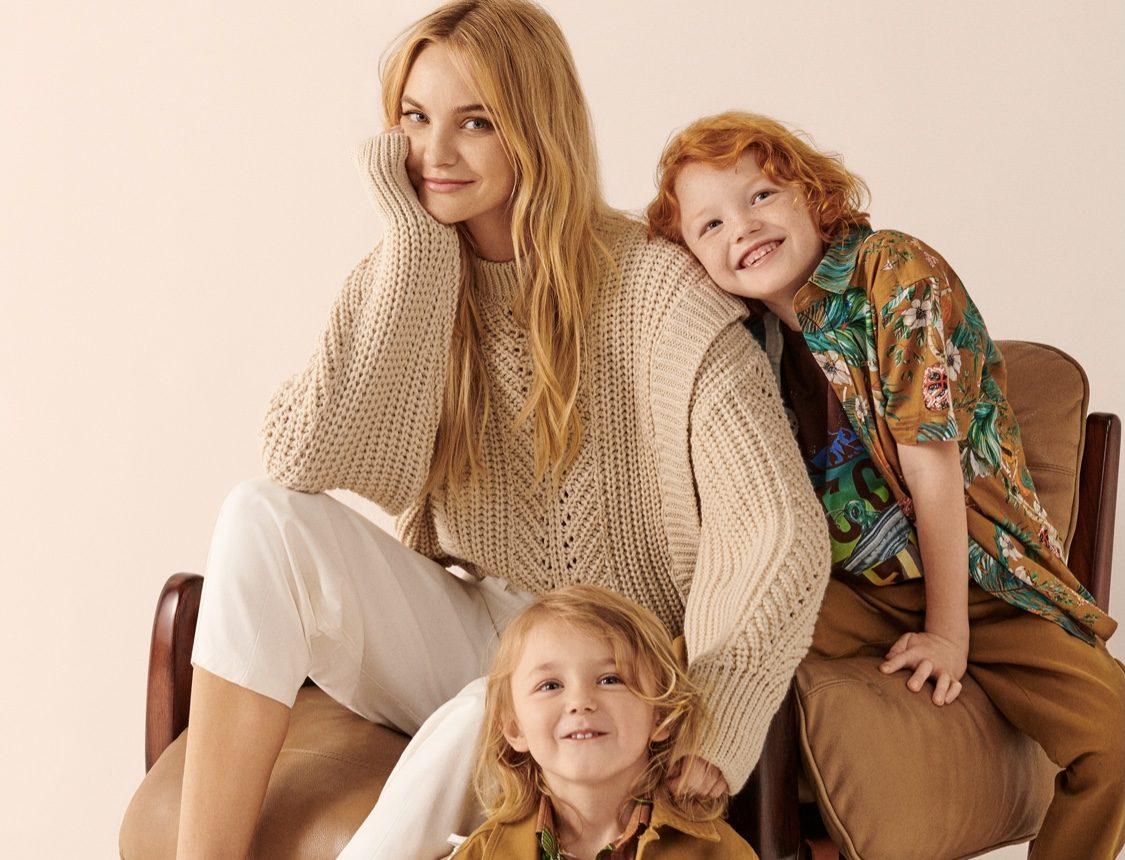 Carol Trentini estrela Dia das Mães da Colcci com Bento e Benoah