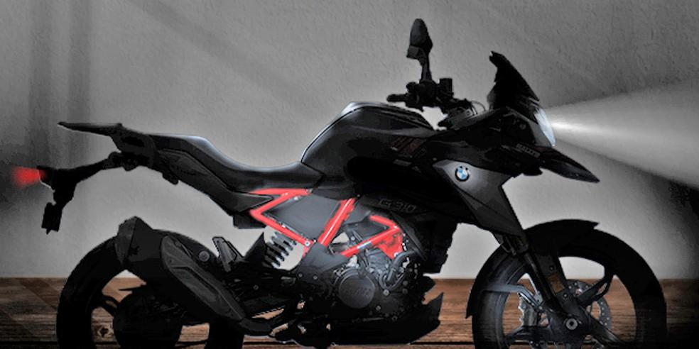 """A """"aventureira"""" da BMW, a G 310 GS 2021, ganhou novo visual e está mais eletrônica"""