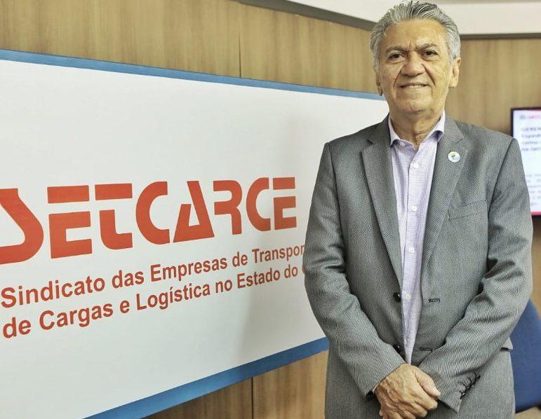Clóvis Bezerra quer avançar no digital e buscar recursos federais para o setor de transporte rodoviário de cargas do Ceará