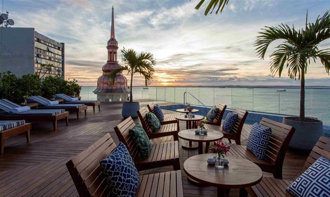 Fera Palace Hotel vem retomando as atividades com todo o seu charme