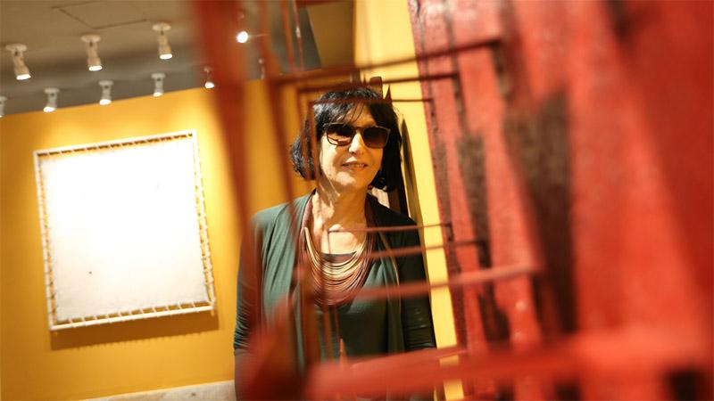 Denise Mattar fala sobre a exposição 50 Duetos em live promovida pela Fundação Edson Queiroz