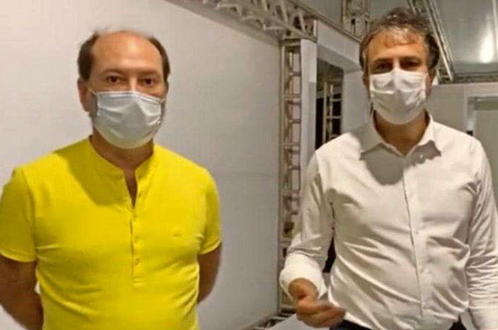 Ceará ultrapassa 5 mil leitos exclusivos para Covid com inauguração de hospital de campanha anexo ao HRN, em Sobral