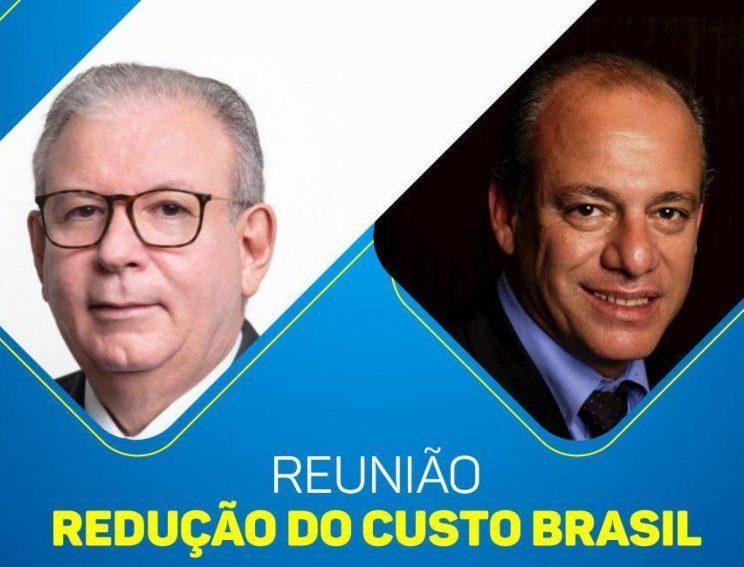 Ricardo Cavalcante e Jorge de Lima falam sobre o Custo Brasil em evento na FIEC