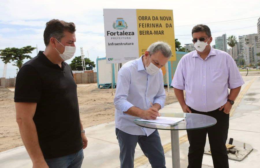 José Sarto dá o start na construção da nova Feirinha da Avenida Beira Mar
