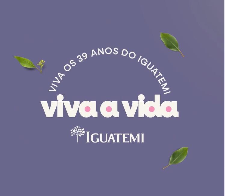 Shopping Iguatemi promove ação especial com mensagem de esperança pela cidade