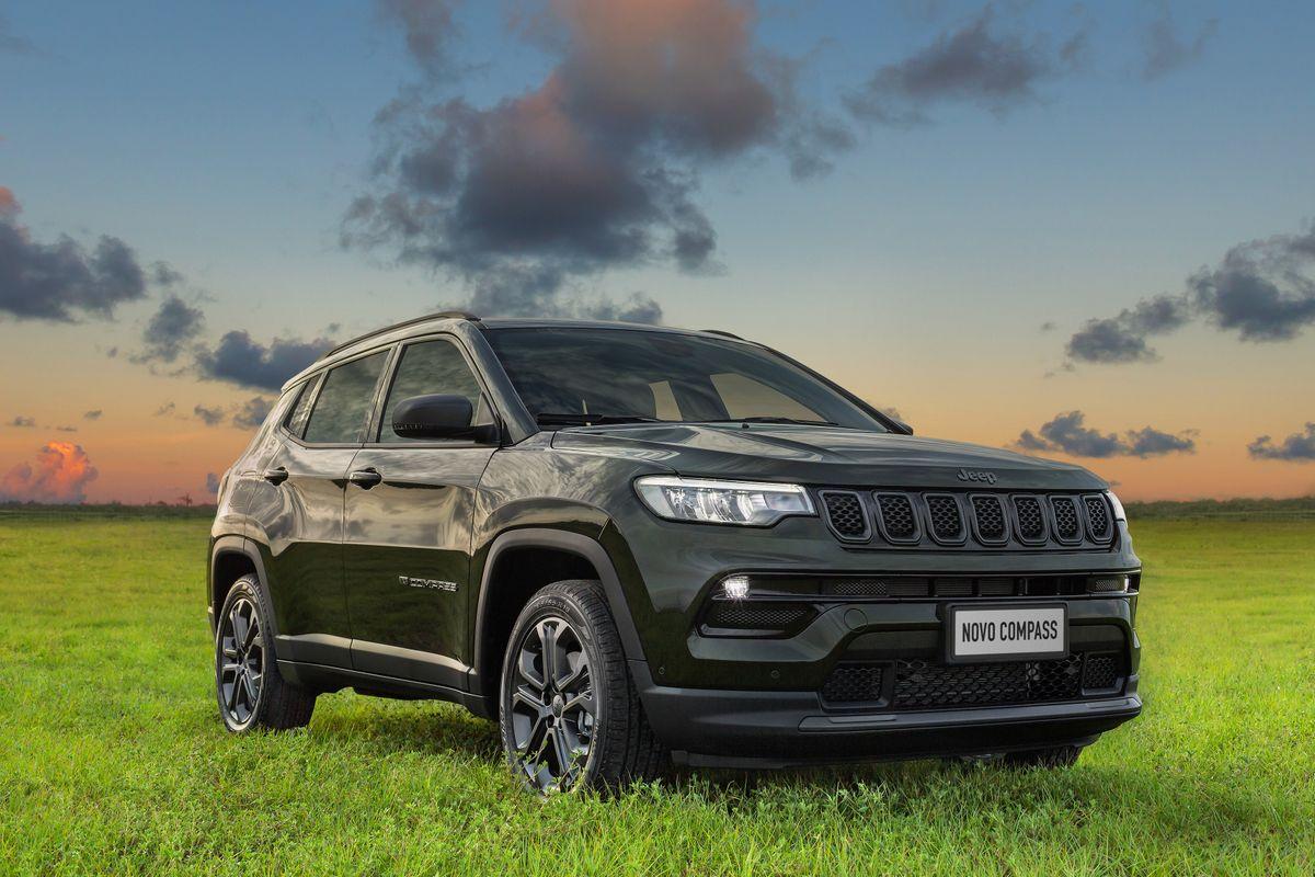 Em pré-venda na Newsedan, Jeep lança novo Compass 2022