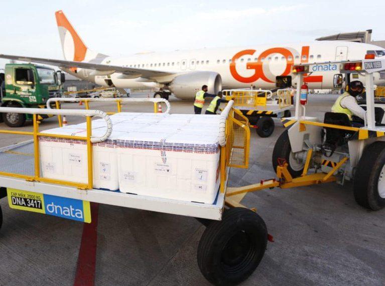 Governo do Ceará recebe 170.450 doses de vacinas para imunizar a população