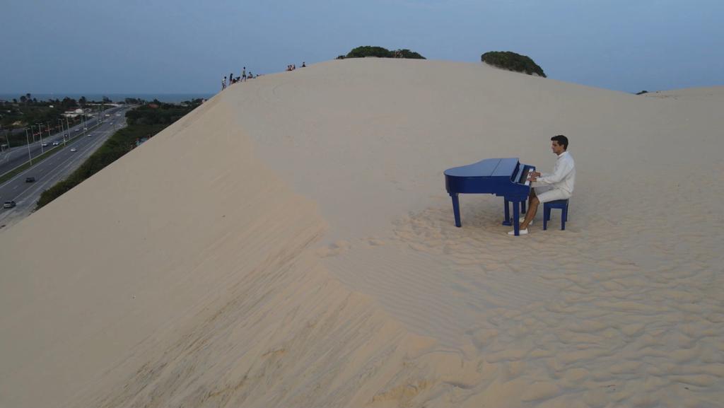 Paulo Rodrigo compõe música em homenagem ao Aniversário de Fortaleza