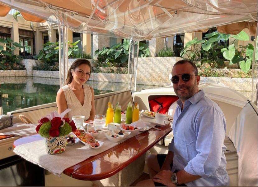 Fernanda Cris e Ivo Machado se encantam com as belezas de Tulum, no México
