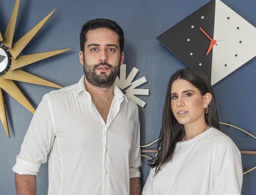 Victor Oliveira e Nathalia Nogueira se preparam para lançar plataforma que conecta clientes a arquitetos
