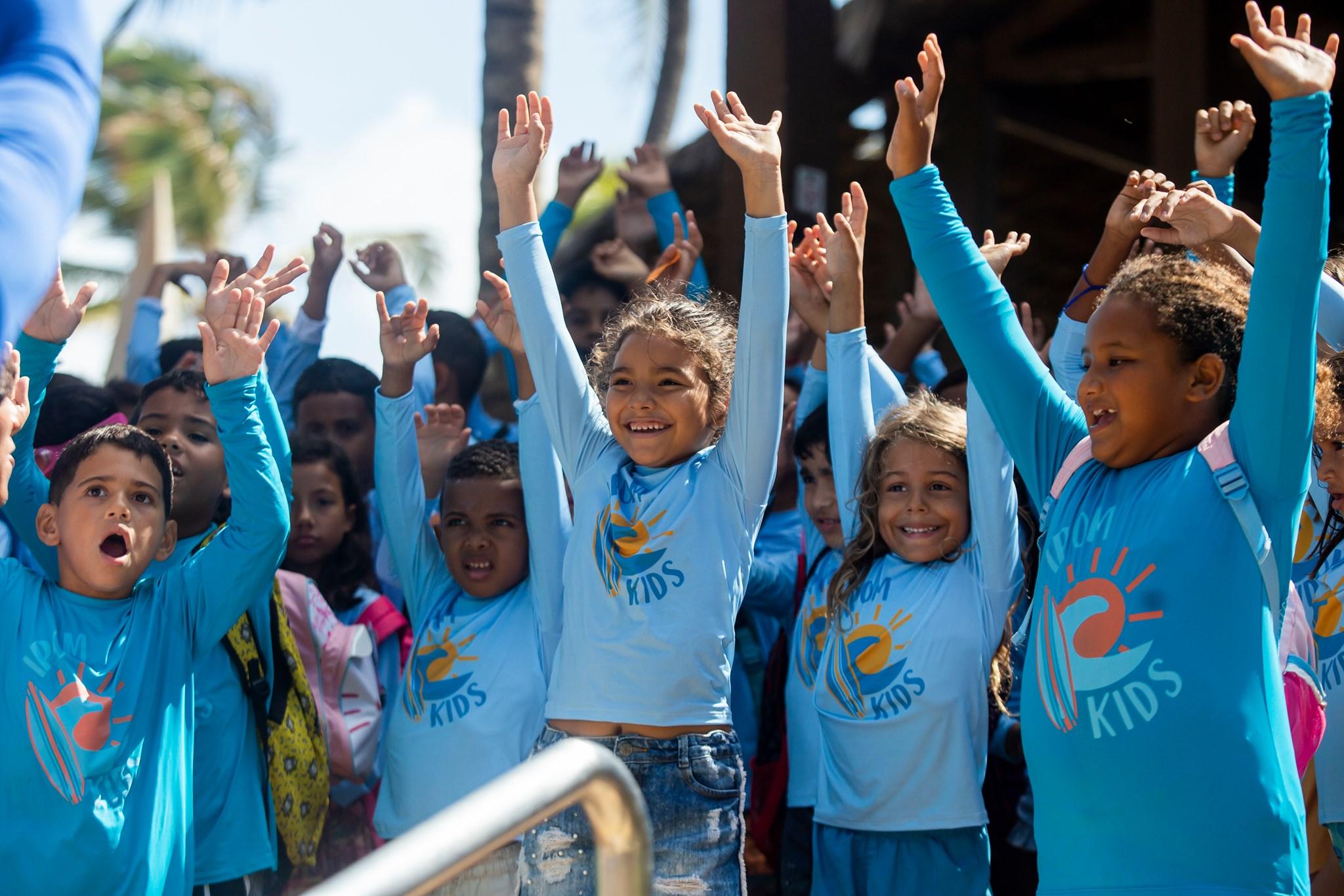 Instituto Povo do Mar promove nova edição do IPOM Kids durante o mês das crianças