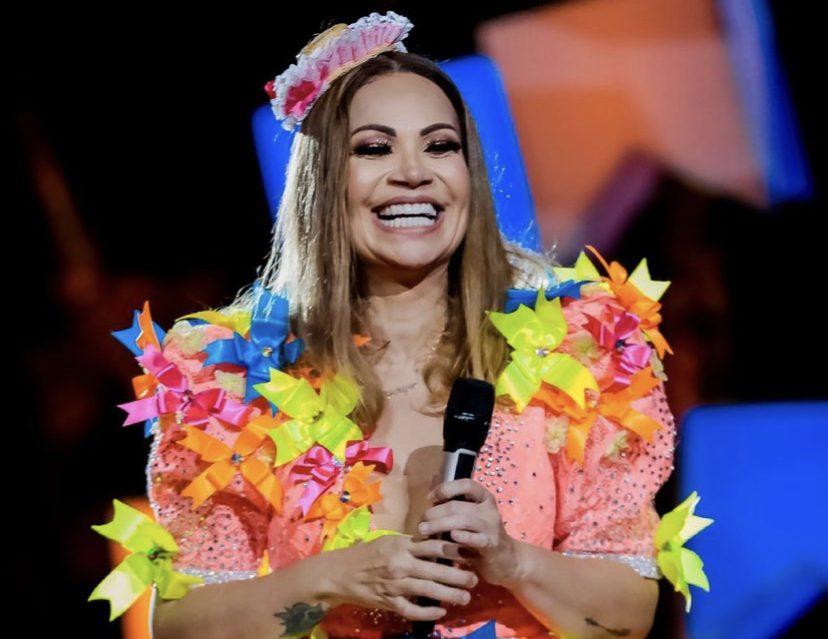 Solange Almeida fará live de São João com Elba Ramalho