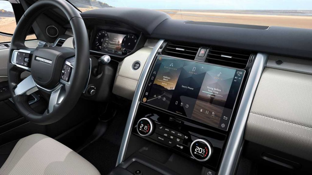 2021 Land Rover Discovery R Dynamic Interior Infotainment