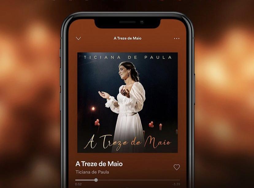 """Ticiana de Paula lança nova versão do single """"A Treze de Maio"""""""