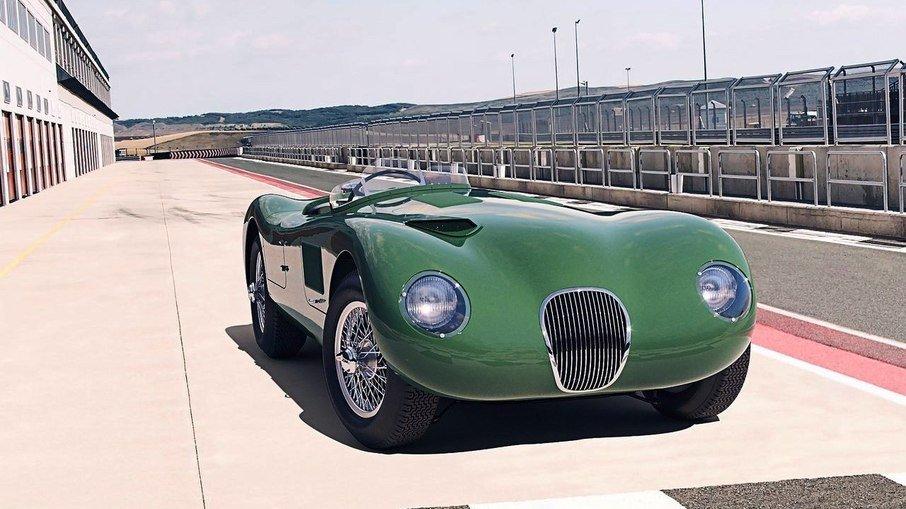 Jaguar fabricará novamente o clássico C-Type, mas em escala para colecionadores