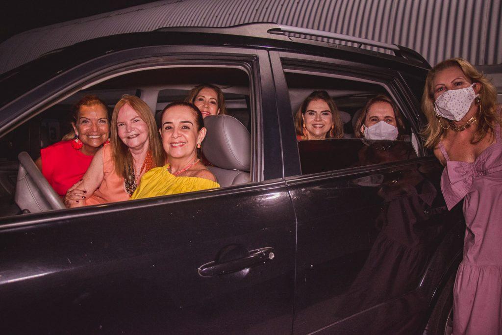 Ana Pinto, Vera Franca, Simone Rizzato, Ana Alcantara, Keivy Machado, Lenita Negrao E Ines Cals
