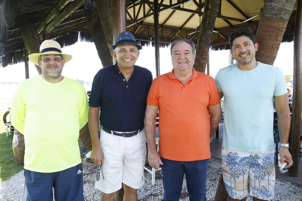 Anchieta Sobreira, Licinio Correa, Chiquinho Aragao E Regis Saraiva