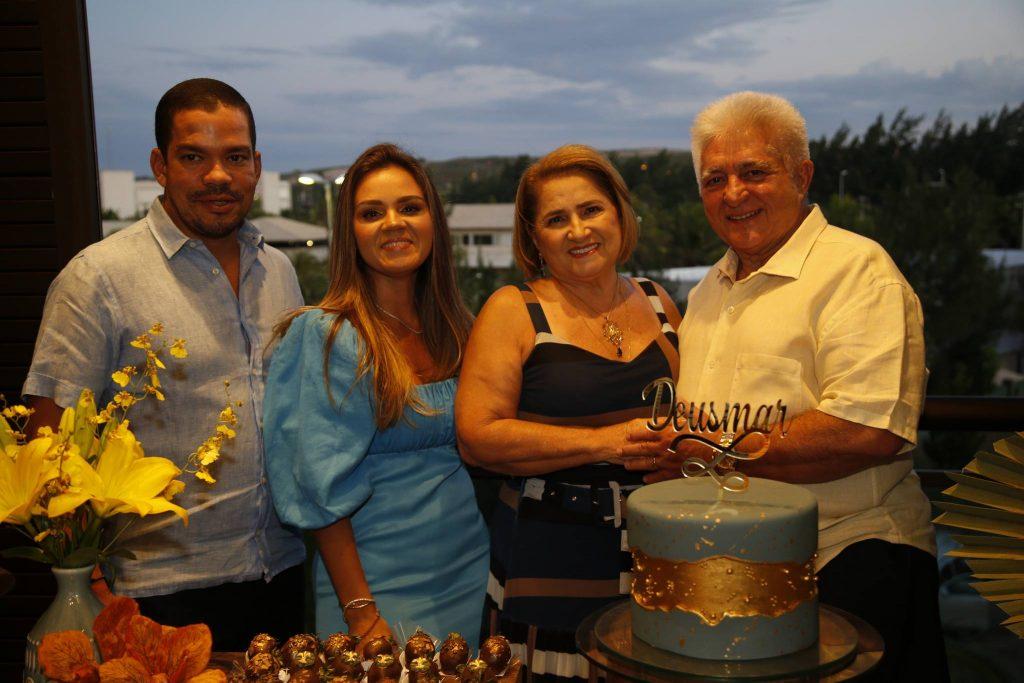 Caca, Katarine, Auricelia E Deusmar Queiros