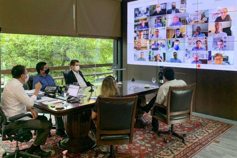 Camilo apresenta nova ferramenta de gestão aos secretários e debate principais medidas de enfrentamento à pandemia