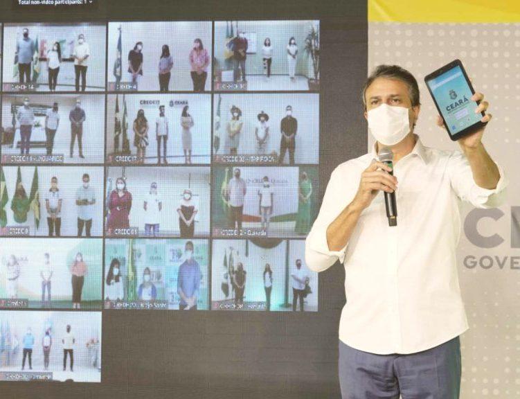 Camilo inicia a distribuição de 150 mil tablets para alunos do Ensino Médio