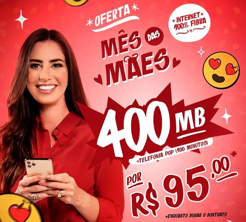 MOB Telecom lança campanha especial para o Dia das Mães com Nicole Pinheiro