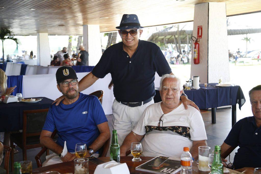 Cesar Fiuza, Licinio Correa E Comandante Claudio