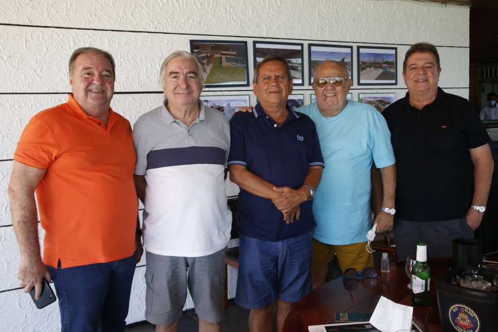 Chiquinho Aragao, Murilo Belchior, Bill Fariasm Claudio Philomeno E Elias Bacha
