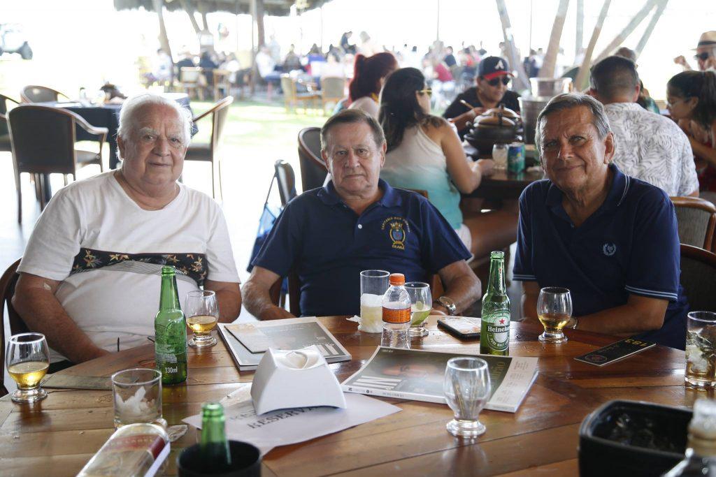 Comandante Claudio, Alvaro Andrade E Bill Farias