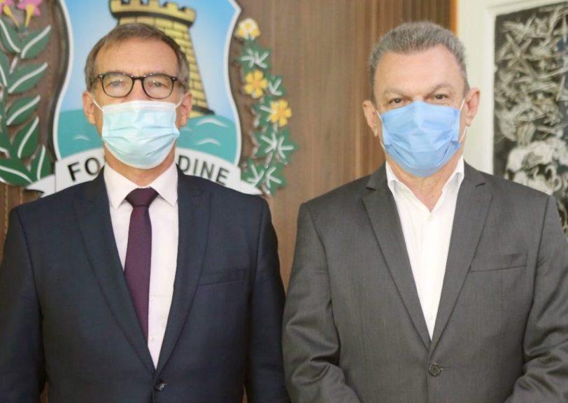 Cônsul-geral da França no Recife discute com o Governo do Ceará e a Prefeitura de Fortaleza novas parcerias estratégicas