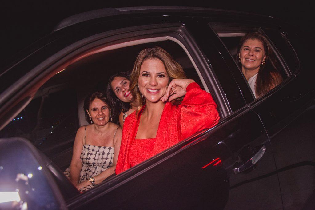 Cristiane Hebert, Juliana Roma, Germana Frota E Elzira Pinheiro