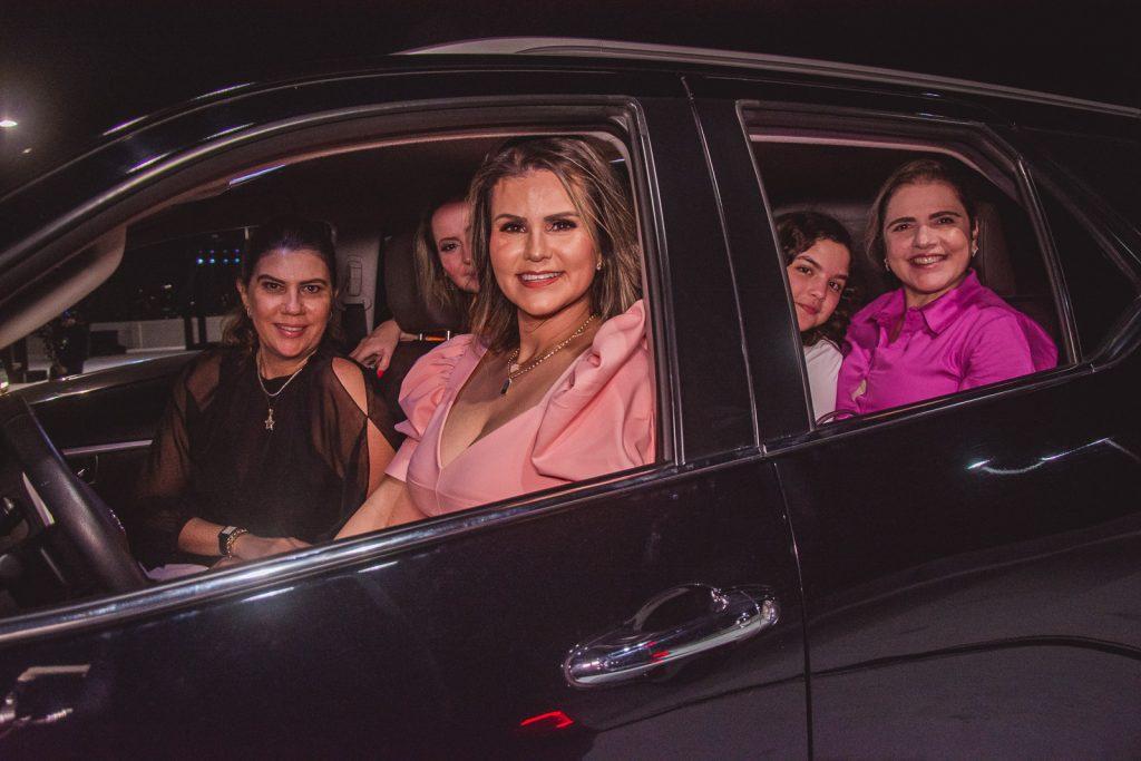Eliana Ximenes, Carina Moreira, Aline Bede, Isabela Fernandes E Mersia Fernandes