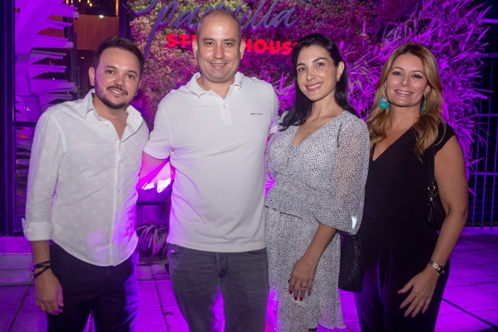 Fabricio Rocha, André Linheiro, Danielle Linheiro E Tatiana Luna