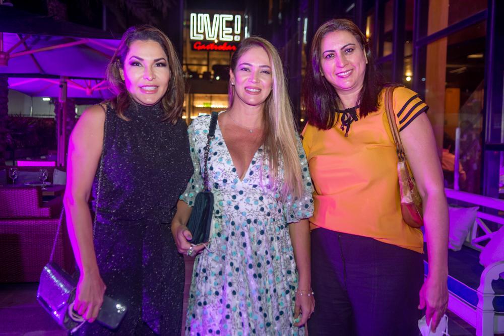 Geogia Machado, Karla Lourenço E Lauriene Gaspar