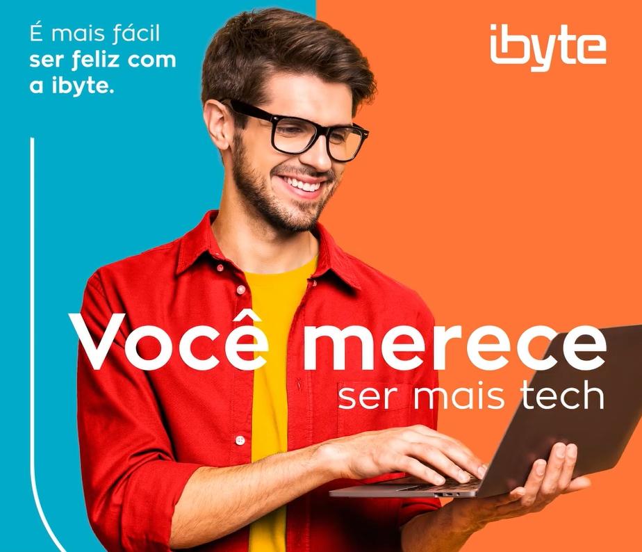 ibyte lança nova campanha e incentiva o consumidor a se conectar