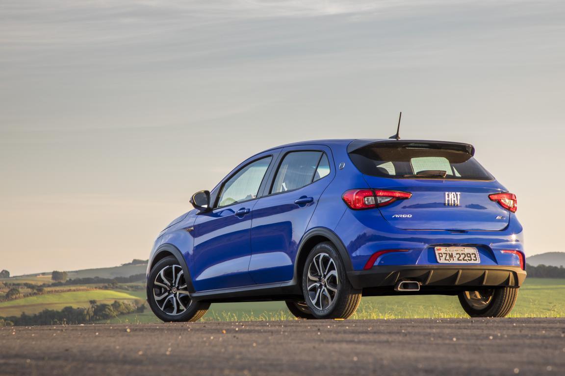 Falta pouco para o Fiat Argo assumir o posto de mais vendido do Brasil