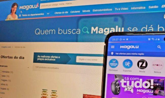 Magazine Luiza tem alta de 740% no seu lucro líquido, graças às vendas online