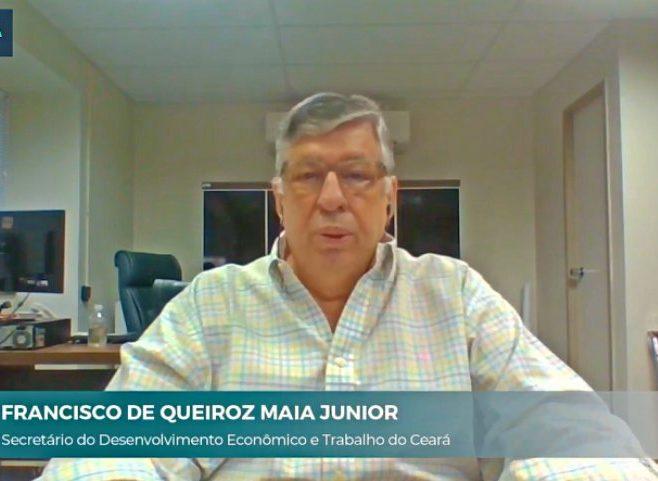 Maia Júnior destaca a infraestrutura do Ceará para atrair novos investimentos