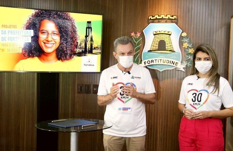 Sarto assina compromisso com a ONU para reduzir número de óbitos no trânsito