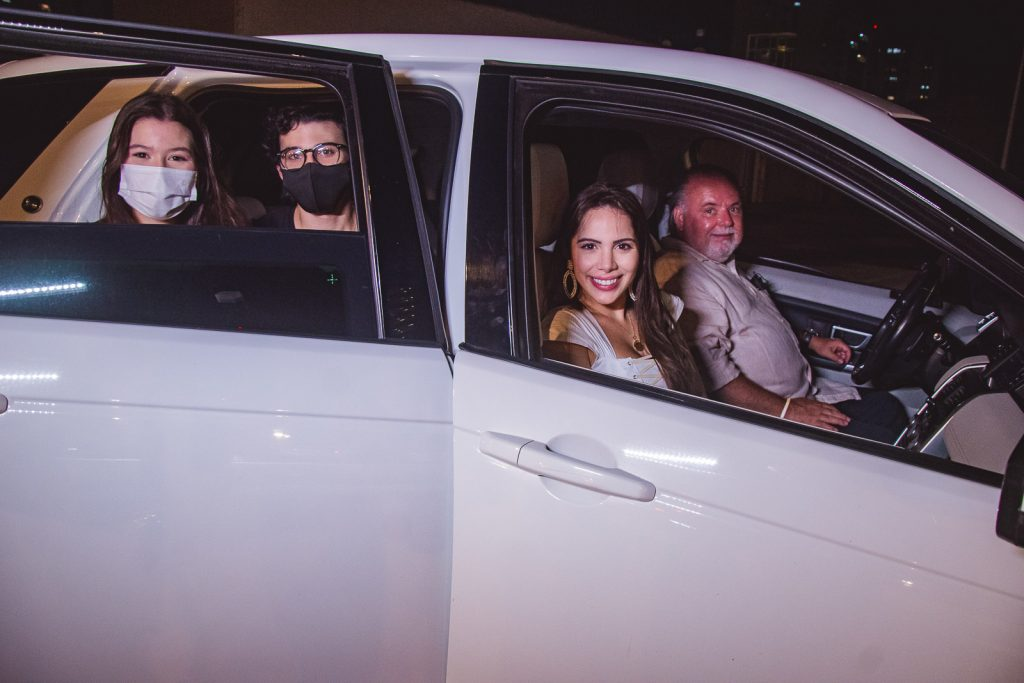 Maria Clara Negrao, Pedro Paulo Negra, Nicole Vasconcelos E Pedro Carapeba