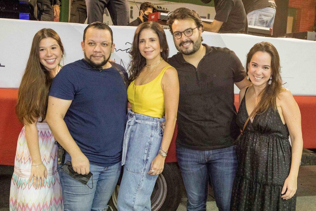 Maria Clara Negrao, Roberto Alves, Maria Lucia Negrao, Vinicios Machado E Manu Bezerra