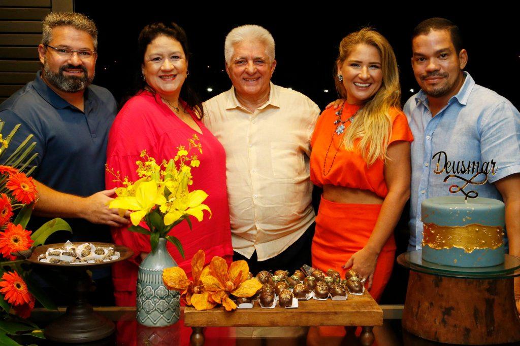 Mario, Rose, Deusmar, Patriciana E Caca Queiros