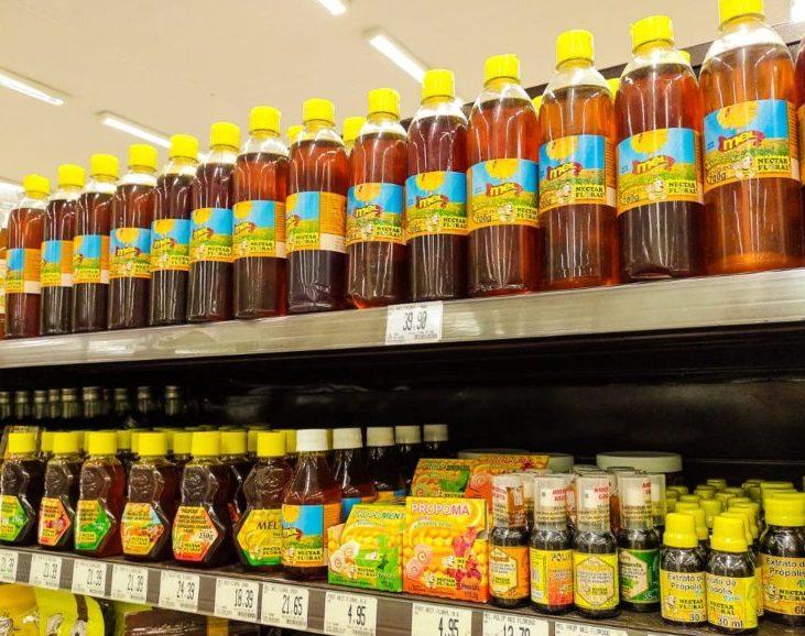 Mercadinhos São Luiz registra alta de 20% na venda de produtos à base de mel