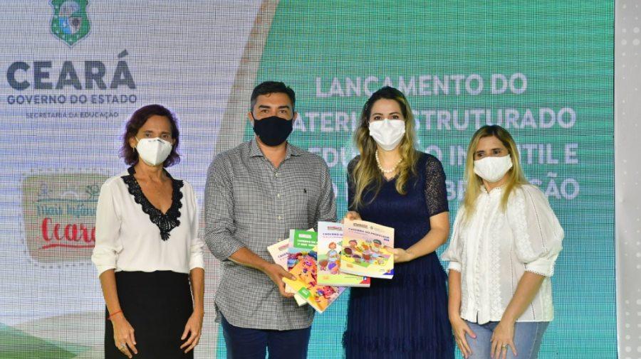 Governo do Ceará lança novo material estruturado para a Educação Infantil