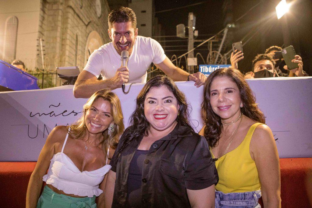 Paulo Benevides, Vanessa Queiros, Vivi Almada E Maria Lucia Negrao