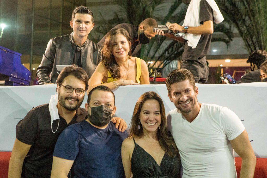 Paulo Rodrigo, Maria Lucia Negrao, Vinicios Machado, Roberto Alves, Manu Bezerra E Paulo Benevides