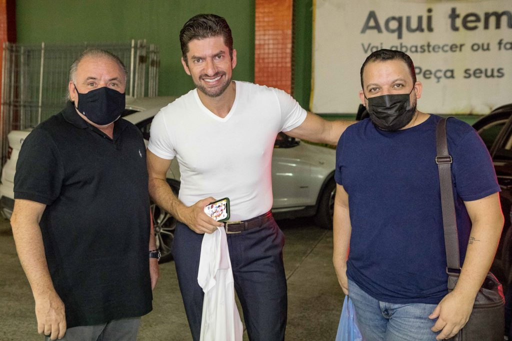 Pedro Carapeba, Paulo Benevides E Roberto Alves