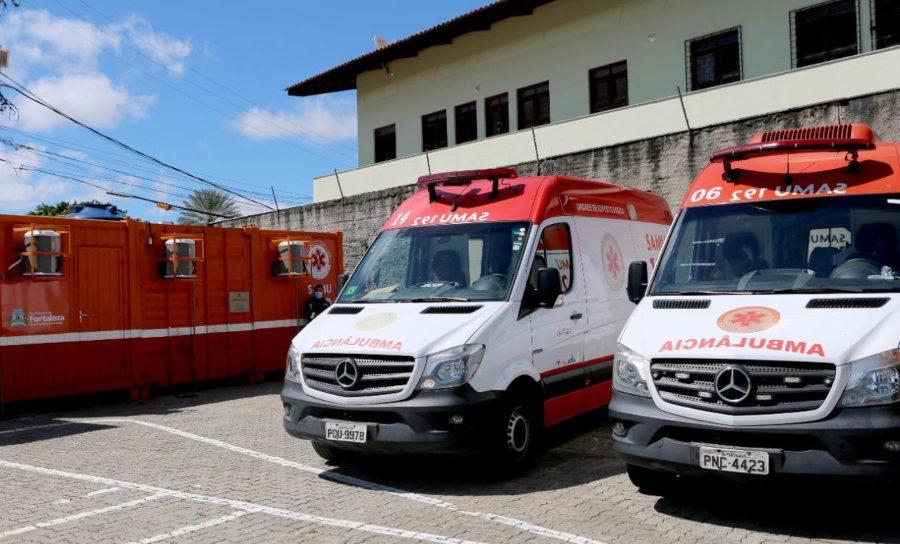 Sarto entrega 14ª Base Descentralizada do Samu no Shopping Iguatemi Fortaleza e libera lista de agendados da vacinação